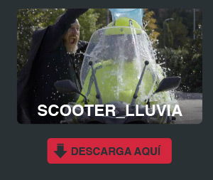 scooter lluvia