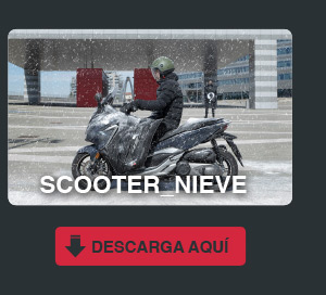 scooter nieve